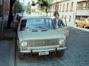 1985, Lövőház utca a Marczibányi tér felé nézve, 2. kerület