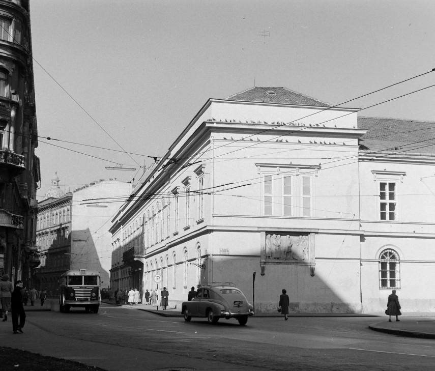 1960, Egyetem tér, 5. kerület