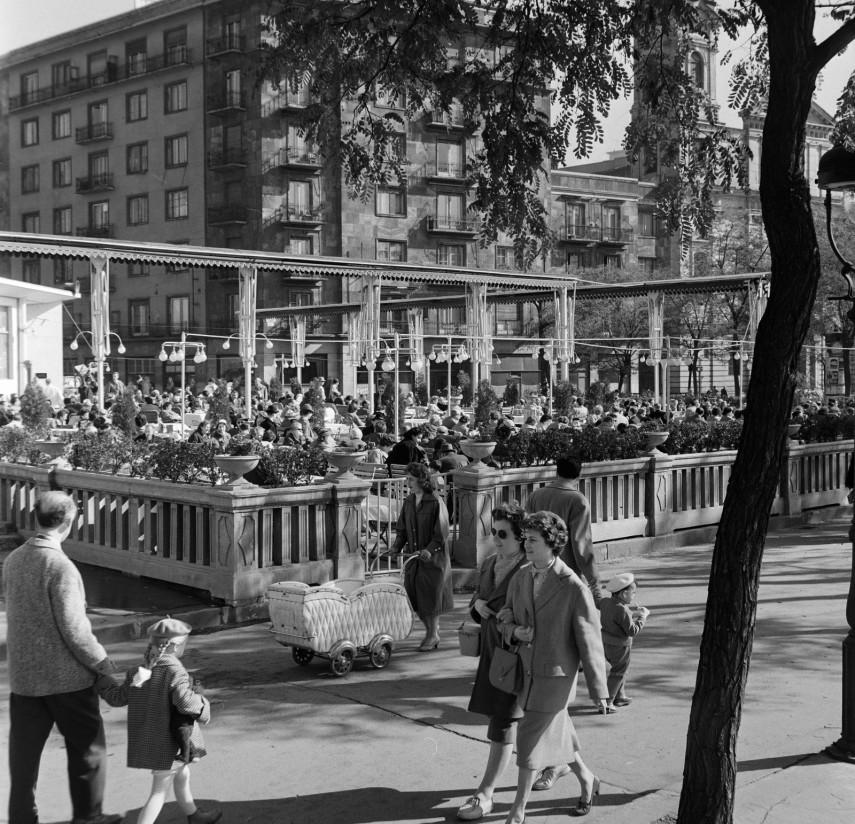 1960, Apáczai Csere János utca, 5. kerület