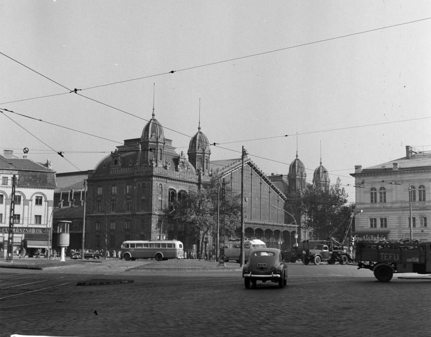 1960, Marx (Nyugati) tér, 6. kerület
