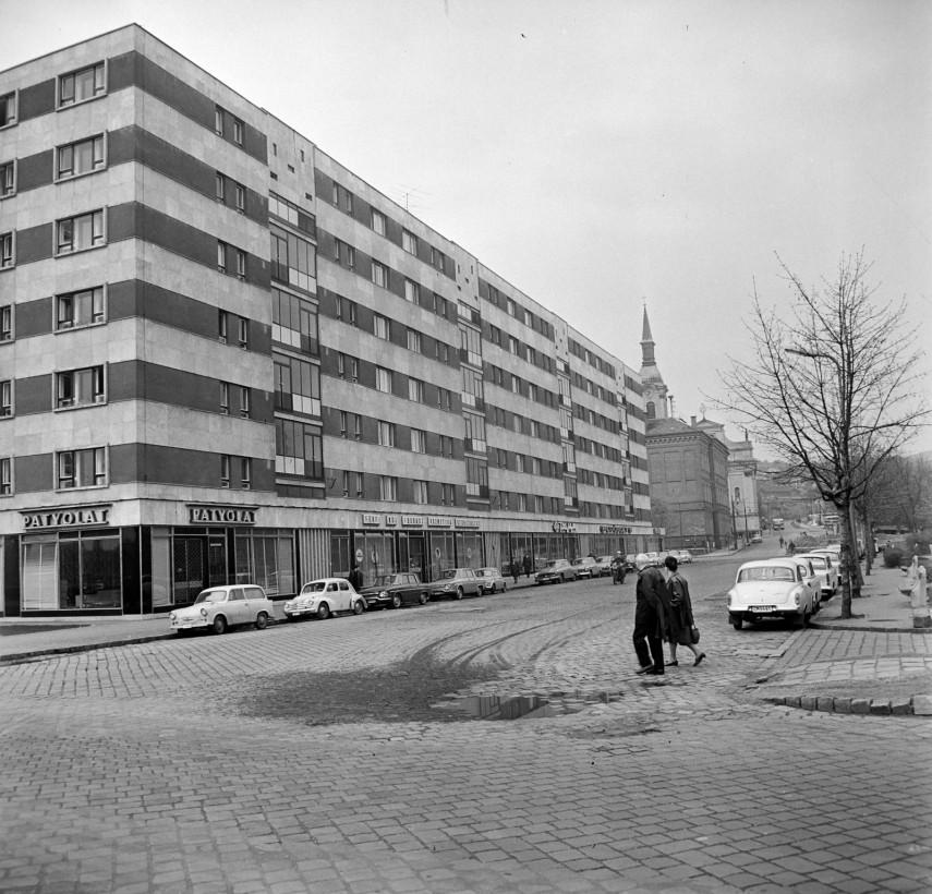 1967, Szépvölgyi út az Árpád fejedelem útja felől, 2. kerület