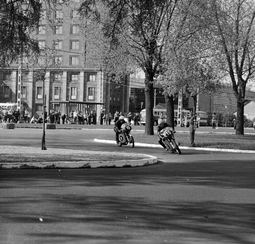 1967, Népliget, motorverseny, 10. kerület