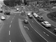 1978, a Március 15. tér az Apáczai Csere János utca felé nézve, 5. kerület