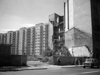 1980, Baross utca 89, a későbbi Szigony utca sarok, 8. kerület