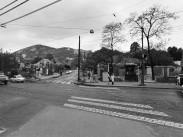 1975, Hegyalja út az Alkotás utcánál, 11. és 12. kerület