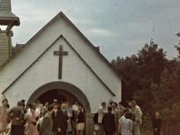 1940, Pesthidegkút (1950-től Budapest, 2. kerület), Feketerigó u. 20., a Szent István király kápolna