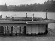 1943, Vigadó tér, árvíz, 5.kerület