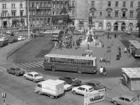 1978. Baross tér és a Verseny utca kereszteződés