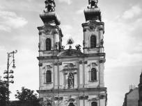 1930, Batthyány tér, a Szent Anna-templom
