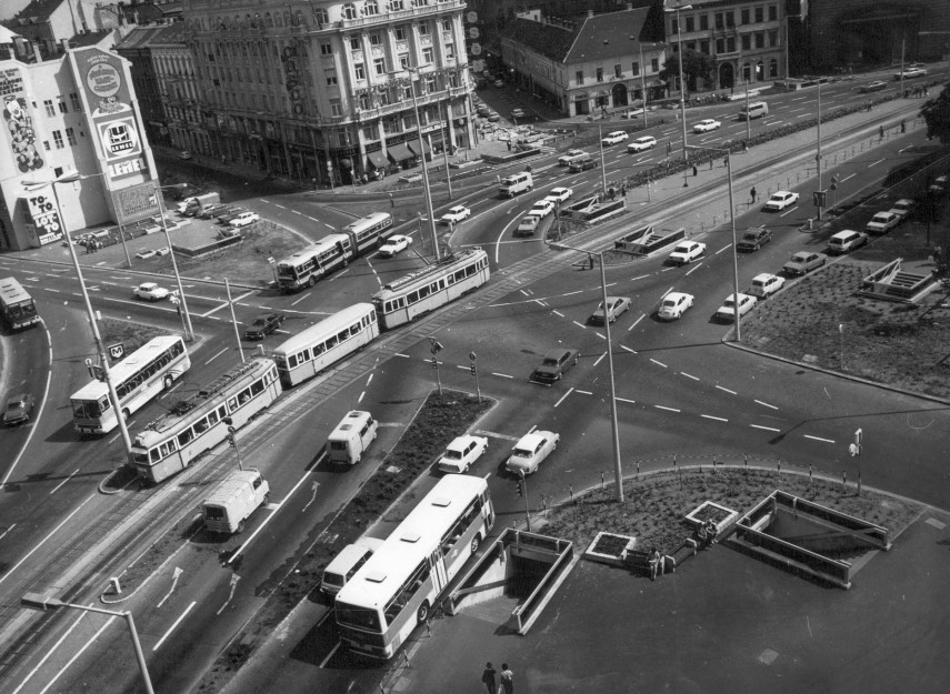 1977, Kálvin tér, 8., 5. és 9. kerület