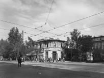 1953, Rákóczi út a Múzeum körútnál, 8. kerület