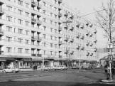 1976, Váci út, a Petneházy utca torkolatától a Dagály utca felé nézve, 13. kerület