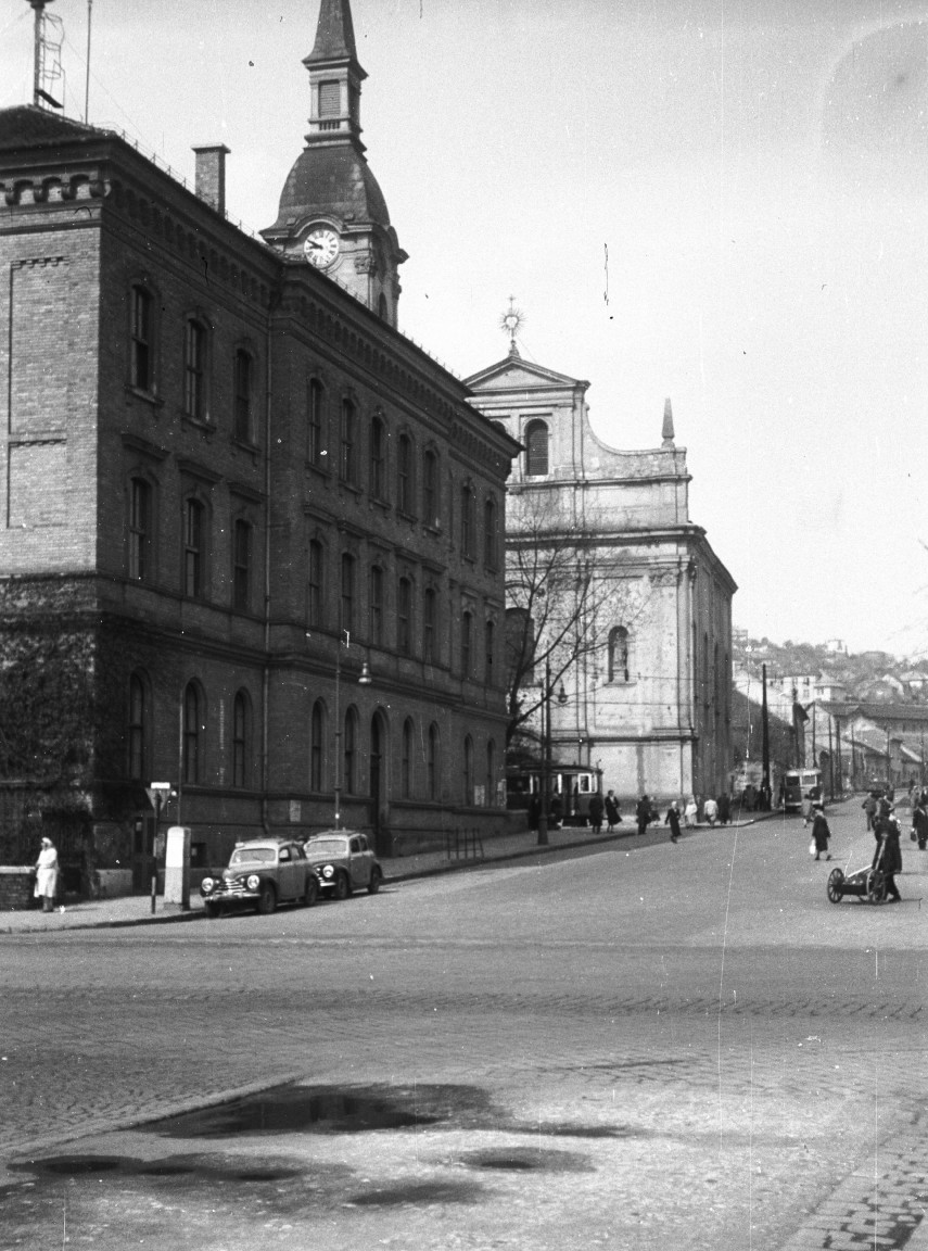 1956, Szépvölgyi út a Lajos utcánál, 2. kerület