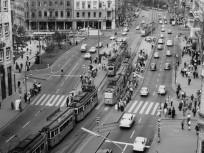 1960-as évek vége felé, József körút és a Lenin (Erzsébet) körút, 8. és 7. kerület