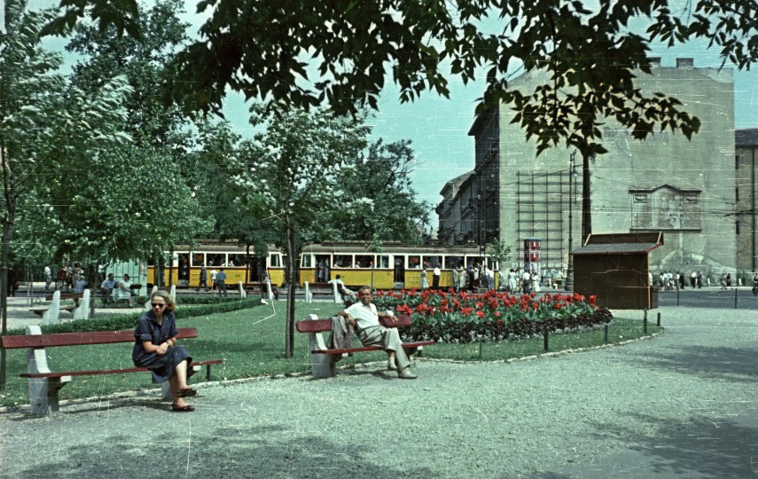 1958, Kálvin tér, 5. kerület, 8. kerület