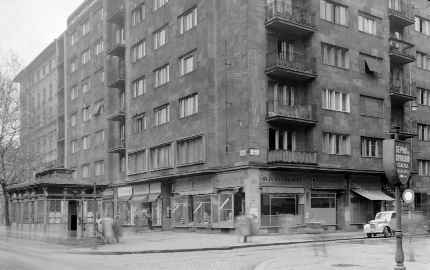 1957, Rákóczi út, 8. kerület