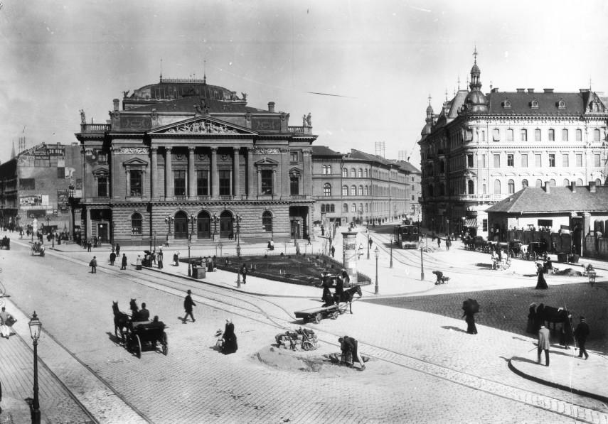 1893, Népszínház utca (Blaha Lujza tér), 8. kerület