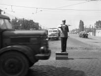 1965, Könyves Kálmán körút az Üllői útnál a Gyáli (Albert Flórián út felé nézve, 9. kerület