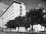 1950, Széchenyi rakpart, a Belügyminisztérium épülete, a mai Képviselői Irodaház (
