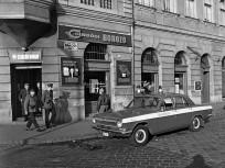 1972, Baross utca a Lujza utcánál