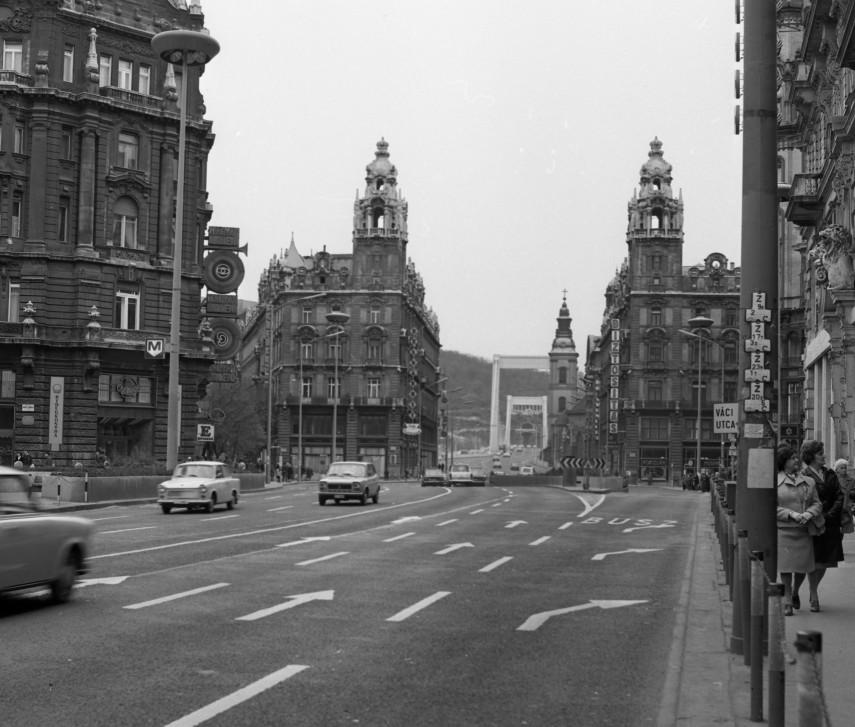 1977, Kossuth Lajos utca, 5. kerület