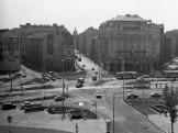 1976, Kálvin tér a Kecskeméti utca felől , 9. és 8. kerület