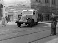 1955, Festetics György utca a Mosonyi utcánál, 8. kerület