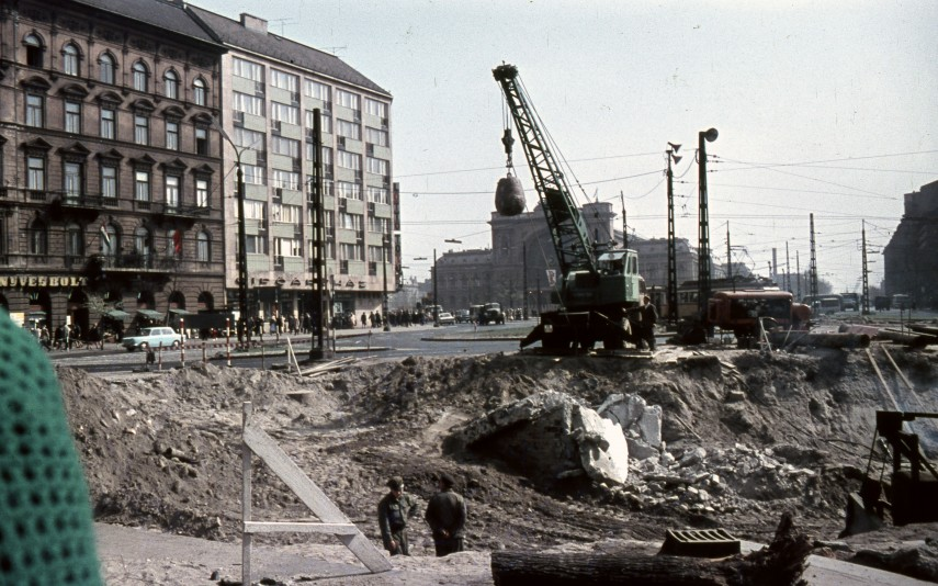 1968, Rottenbiller utca, a Baross térnél, 7. kerület