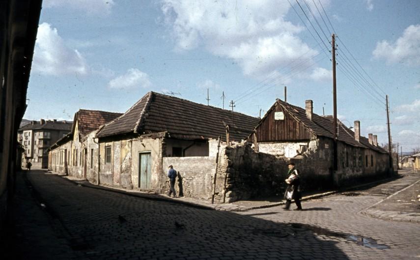 1968, Kiscelli utca - Szőlőkert utca sarok, 3. kerület