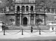 1933, Ybl Miklós tér, a Várkert Bazár, 1. kerület