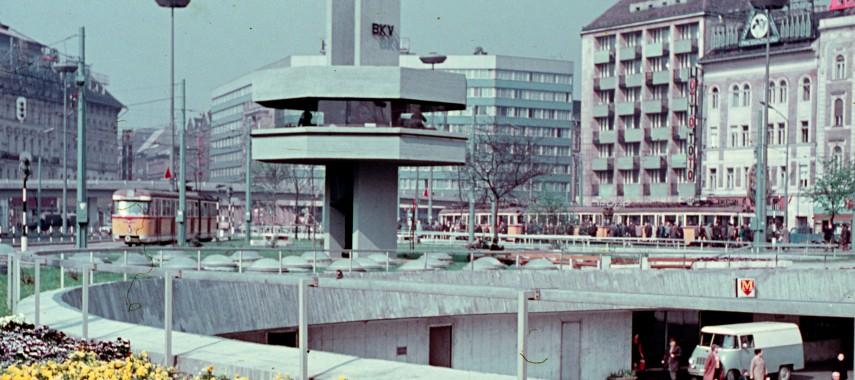 1971 táján, Baross tér
