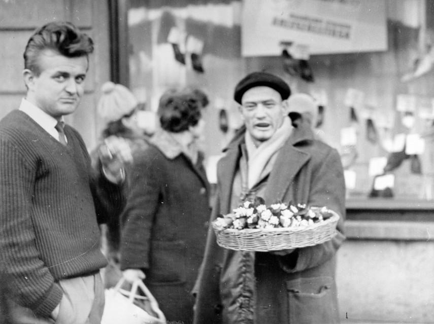 1961, Budapest, a Hóvirág-árus