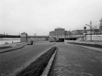 1961, Pesti alsó rakpart az Eötvös térnél, 5. kerület