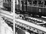 1953, Kerepesi út a Százados út előtt kifelé nézve, 8. kerület