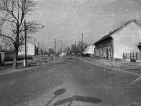 1960, Budaörsi út és a Balatoni műút elágazása, 11. kerület