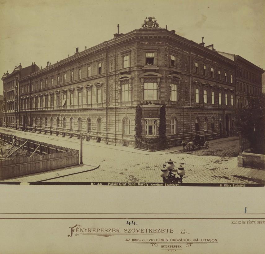 1872 táján, Őtpacsirta utca, 8. kerület