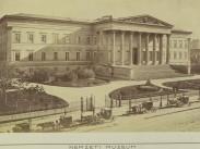 1880-as évek, Múzeum körút, a Nemzeti Múzeum épülete, 8. kerület
