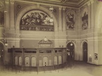 1884, Keleti pályaudvar, a jegypénztár, 8. kerület