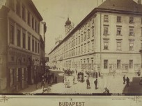 1894 táján, Gránátos (Városház) utca, 5. kerület