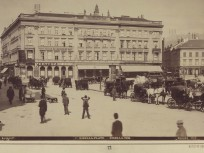 1894 táján, Gizella (Vörösmarty) tér, 4. (1950-től 5.) kerület