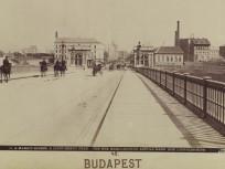 1894 táján, Margit híd, 13. kerület