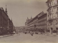 1895 táján, Lipót (Szent István) körút, 1950-től 5. és 13. kerület