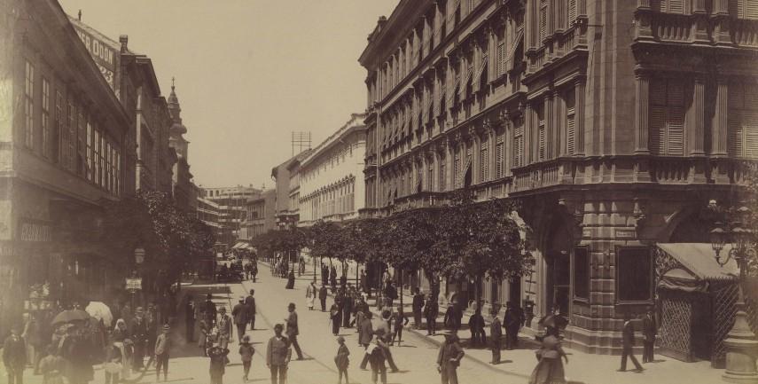 1894 táján, Kecskeméti utca, 4. (1950-től 5.) kerület