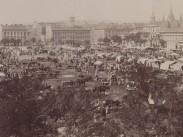 1890-es évek, Új vásártér (II. János Pál pápa tér), 8. kerület