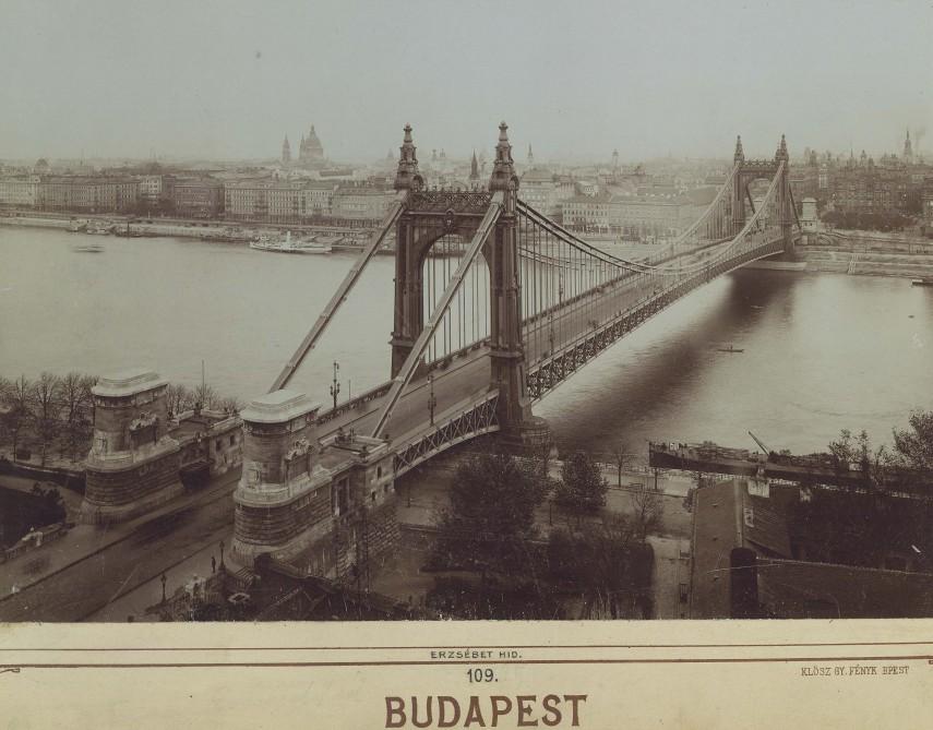1913, Erzsébet híd, 1. kerület