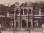 1890 táján, Várkert rakpart (Ybl Miklós tér), a Várkert Bazár, 1. kerület