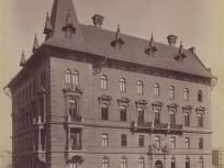 Az 1890-es évek elején, Alkotmány utca, 5. kerület