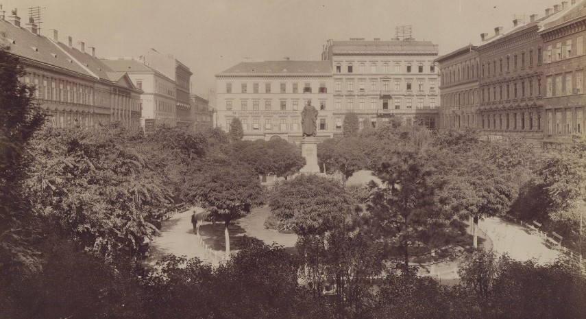 1890-es évek eleje, József (József nádor) tér, 4. (1950-től 5.) kerület