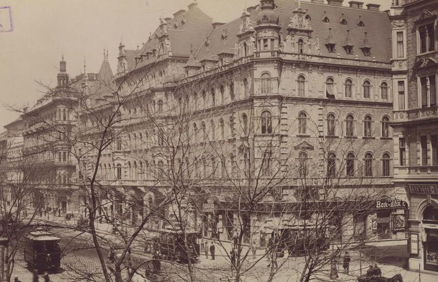 1890-es évek, Teréz körút, Erzsébet körút, 6. és 7. kerület
