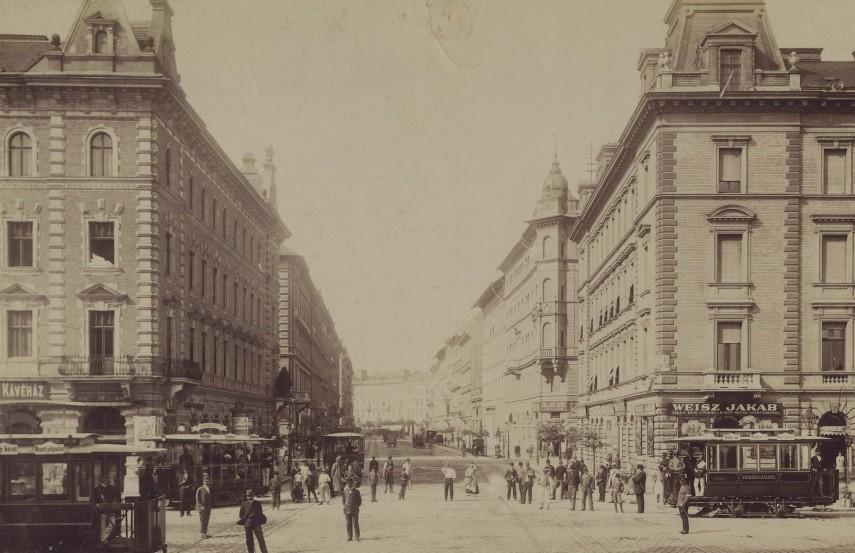 1890-es évek, Podmaniczky utca, 6. kerület